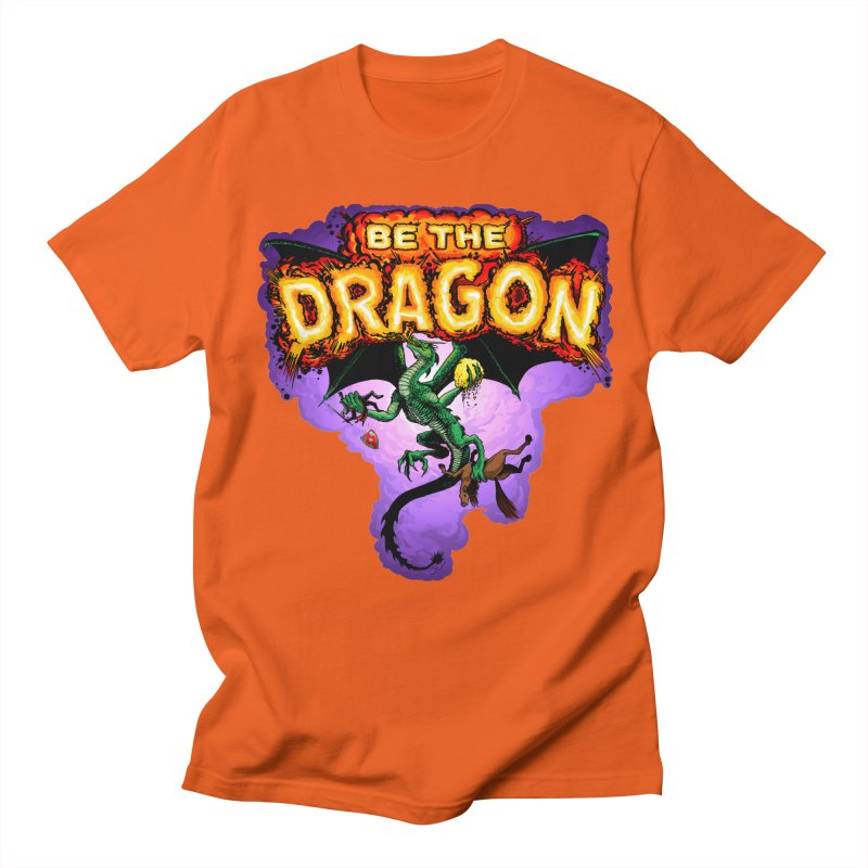 Be the Dragon Women's Regular Unisex T-Shirt by Joe Abboreno's Artist Shop