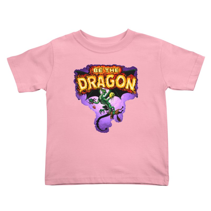 Be the Dragon Kids Toddler T-Shirt by Joe Abboreno's Artist Shop