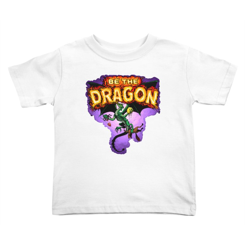 Be the Dragon Kids Toddler T-Shirt by Joe Abboreno's Artist Shop