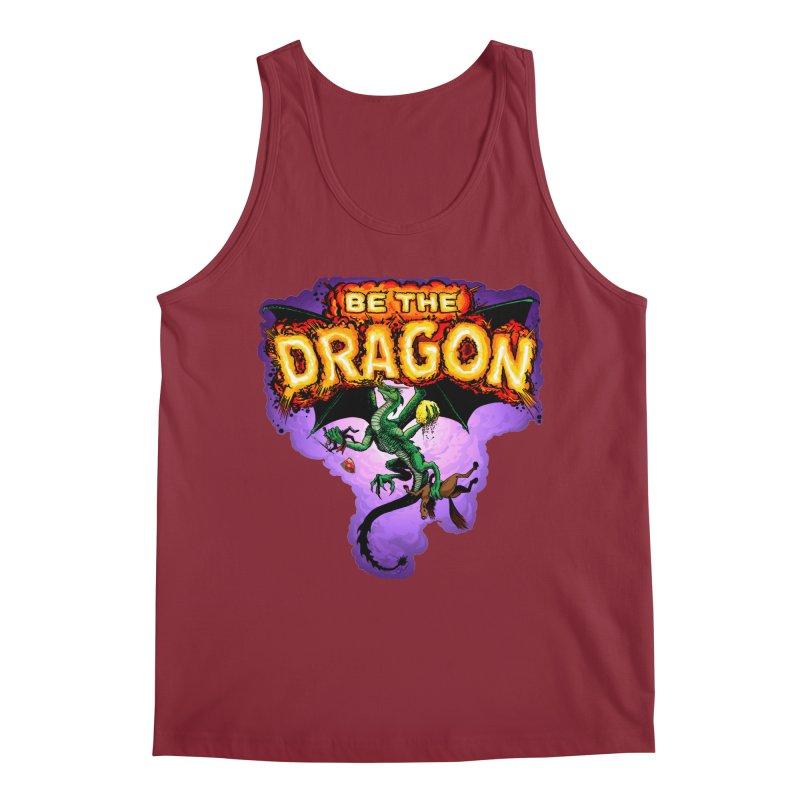 Be the Dragon Men's Regular Tank by Joe Abboreno's Artist Shop