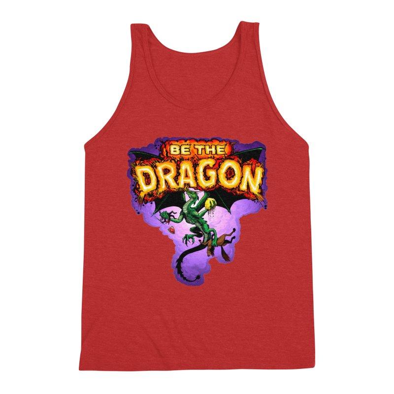 Be the Dragon Men's Triblend Tank by Joe Abboreno's Artist Shop