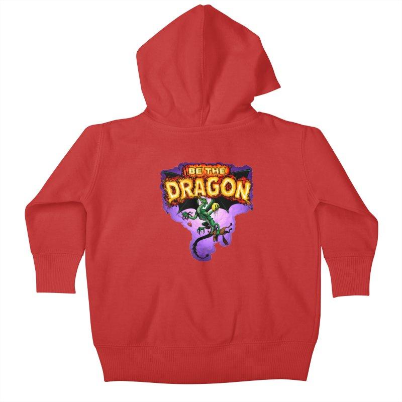 Be the Dragon Kids Baby Zip-Up Hoody by Joe Abboreno's Artist Shop