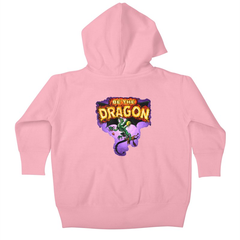 Be the Dragon Kids Baby Zip-Up Hoody by Joe Abboreno's Artist Shop
