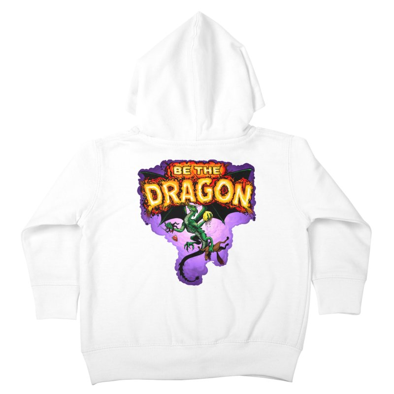 Be the Dragon Kids Toddler Zip-Up Hoody by Joe Abboreno's Artist Shop
