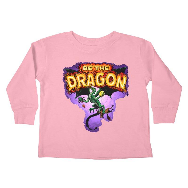 Be the Dragon Kids Toddler Longsleeve T-Shirt by Joe Abboreno's Artist Shop