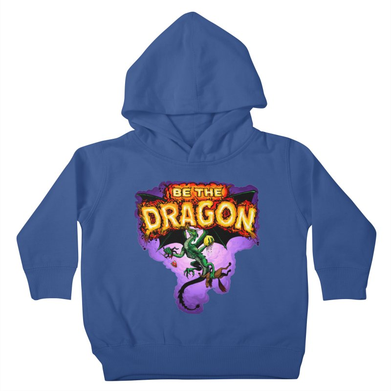 Be the Dragon Kids Toddler Pullover Hoody by Joe Abboreno's Artist Shop