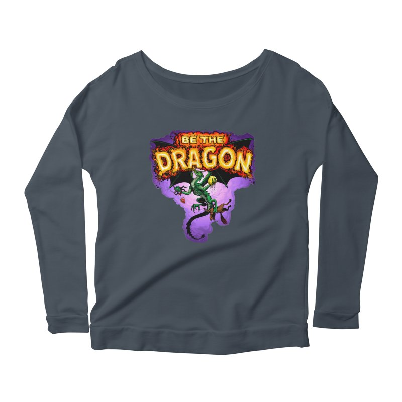 Be the Dragon Women's Scoop Neck Longsleeve T-Shirt by Joe Abboreno's Artist Shop