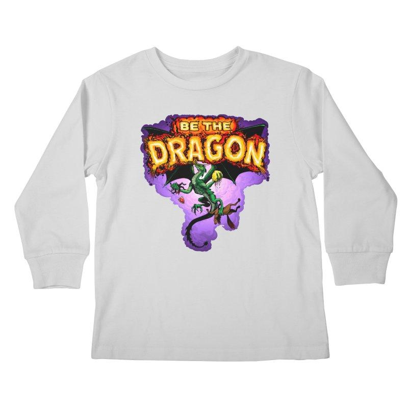 Be the Dragon Kids Longsleeve T-Shirt by Joe Abboreno's Artist Shop