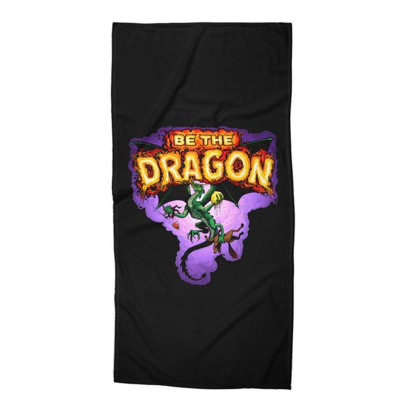 Be the Dragon Accessories Beach Towel by Joe Abboreno's Artist Shop