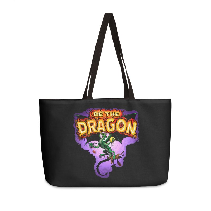 Be the Dragon Accessories Weekender Bag Bag by Joe Abboreno's Artist Shop