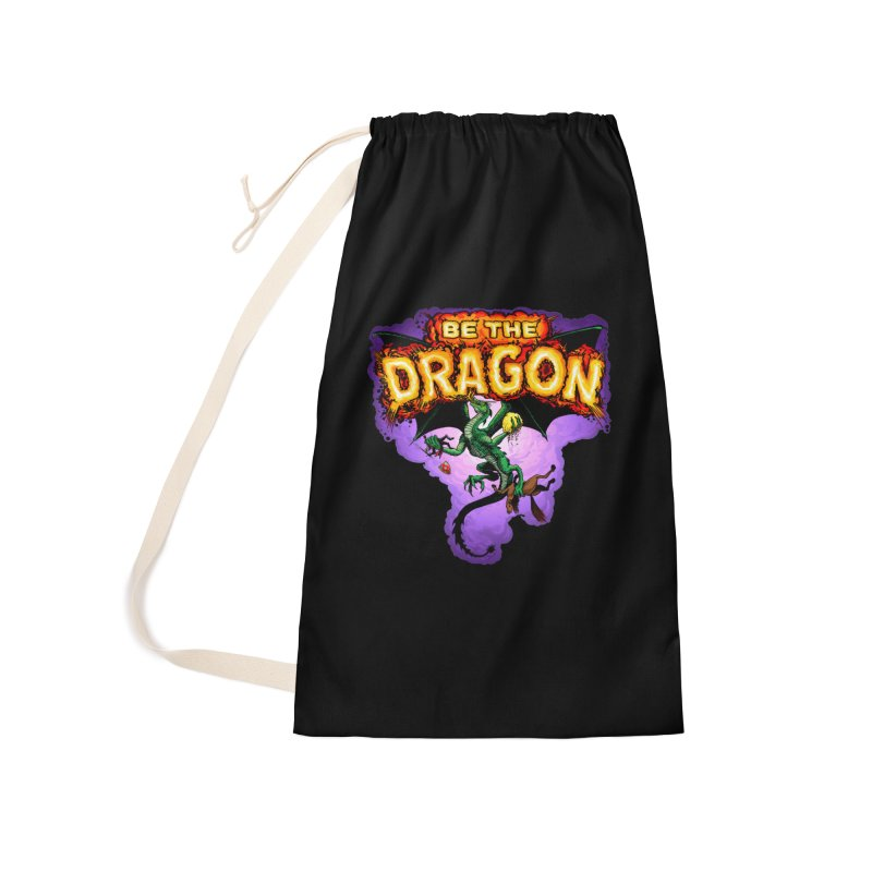 Be the Dragon Accessories Laundry Bag Bag by Joe Abboreno's Artist Shop