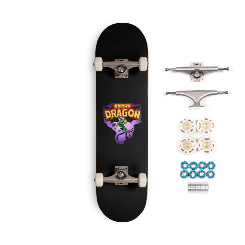 Be the Dragon Accessories Complete - Premium Skateboard by Joe Abboreno's Artist Shop
