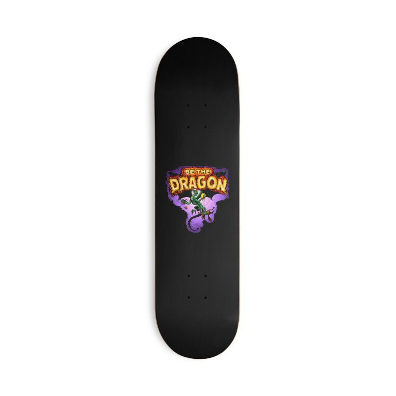 Be the Dragon Accessories Deck Only Skateboard by Joe Abboreno's Artist Shop
