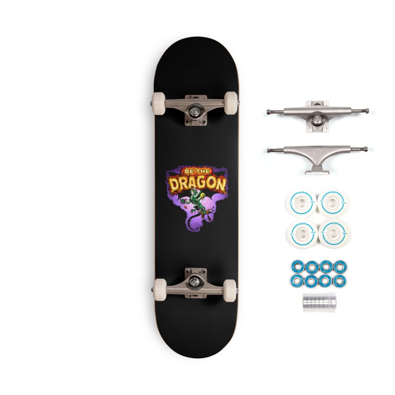 Be the Dragon Accessories Complete - Basic Skateboard by Joe Abboreno's Artist Shop