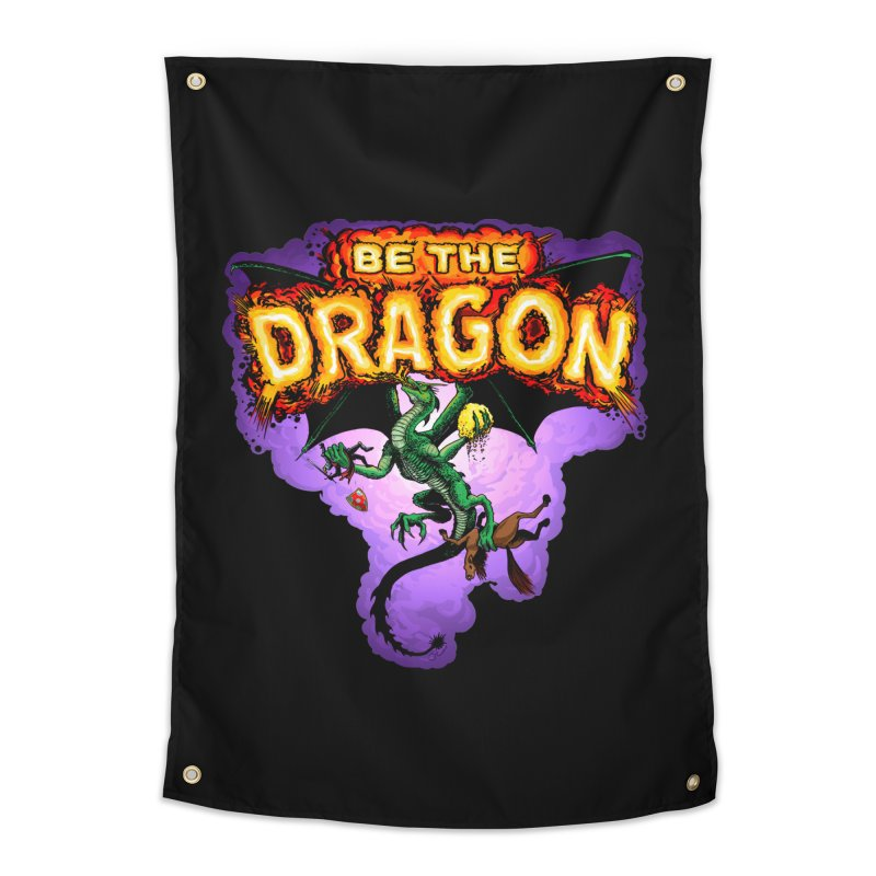 Be the Dragon Home Tapestry by Joe Abboreno's Artist Shop