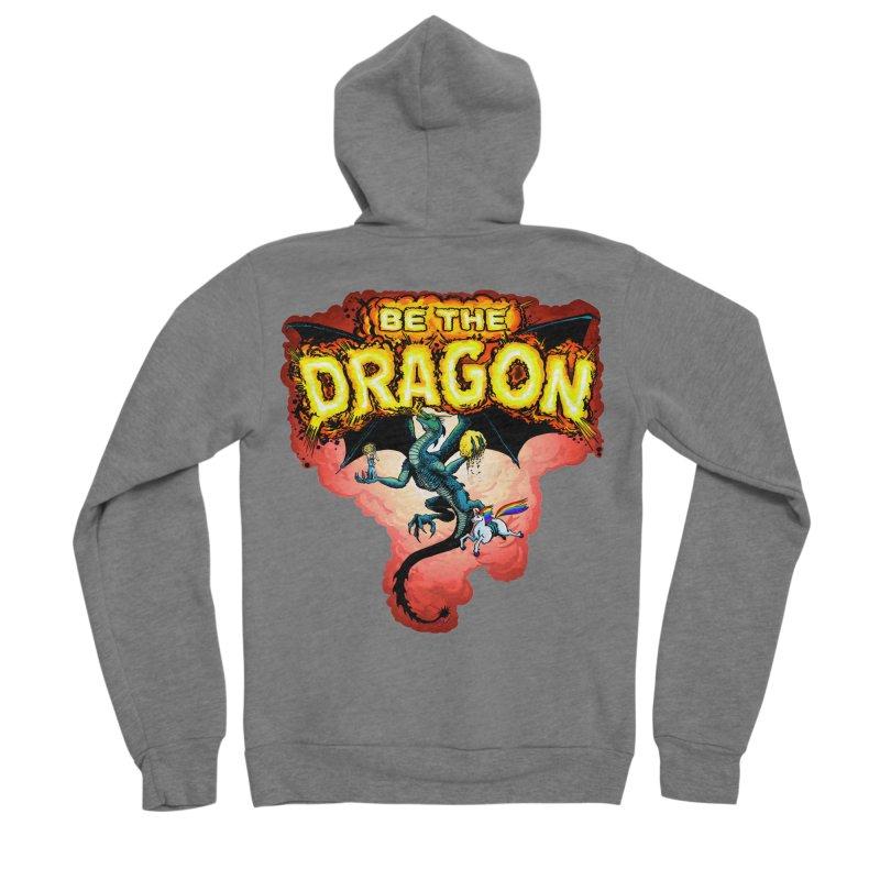 Be the Dragon! Save the Princess! Raise Up the Unicorns! Women's Sponge Fleece Zip-Up Hoody by Joe Abboreno's Artist Shop