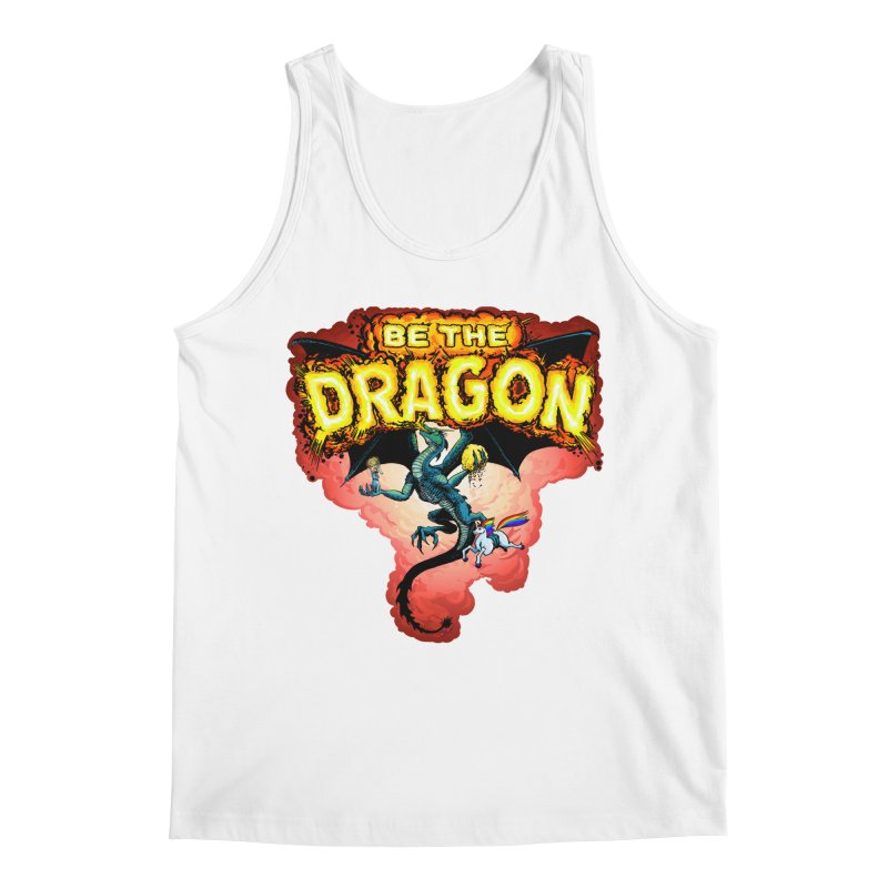 Be the Dragon! Save the Princess! Raise Up the Unicorns! Men's Regular Tank by Joe Abboreno's Artist Shop