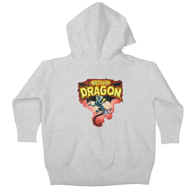 Be the Dragon! Save the Princess! Raise Up the Unicorns! Kids Baby Zip-Up Hoody by Joe Abboreno's Artist Shop