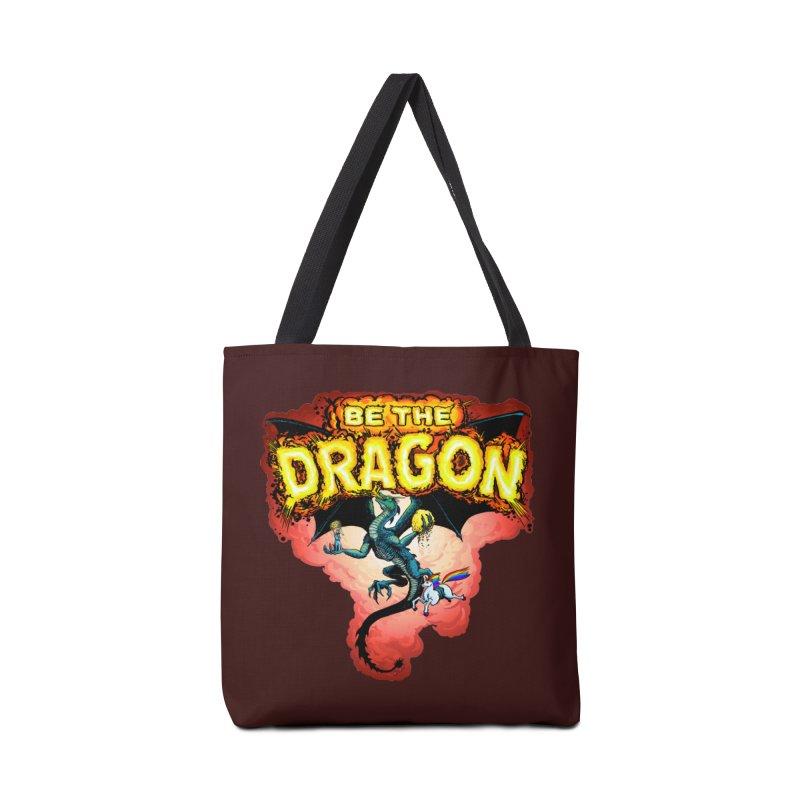 Be the Dragon! Save the Princess! Raise Up the Unicorns! Accessories Tote Bag Bag by Joe Abboreno's Artist Shop