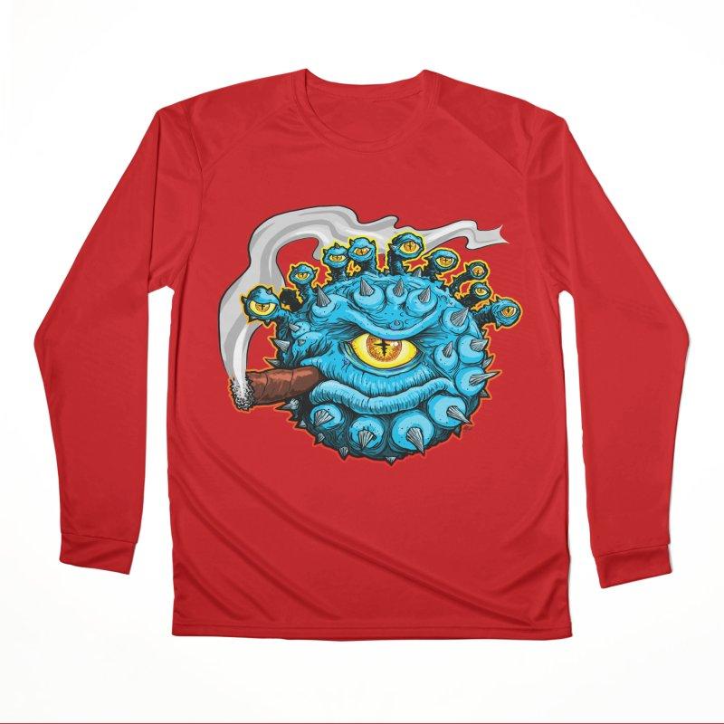 Chomp! Men's Performance Longsleeve T-Shirt by Joe Abboreno's Artist Shop