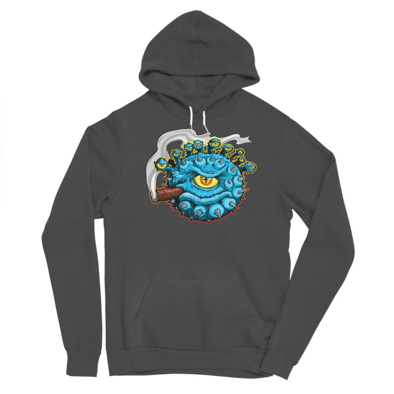Chomp! Men's Sponge Fleece Pullover Hoody by Joe Abboreno's Artist Shop
