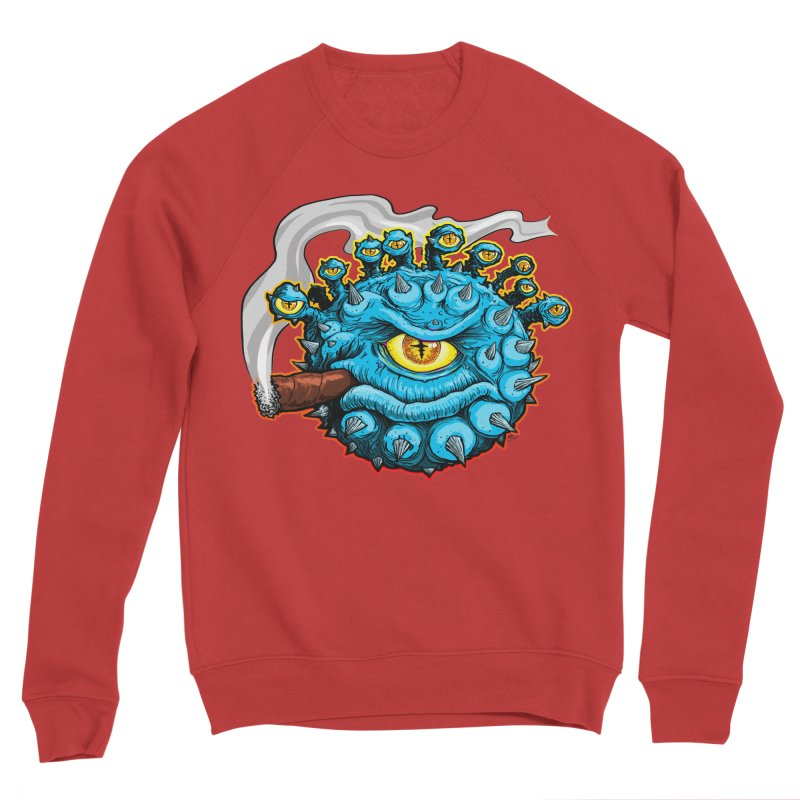 Chomp! Men's Sponge Fleece Sweatshirt by Joe Abboreno's Artist Shop