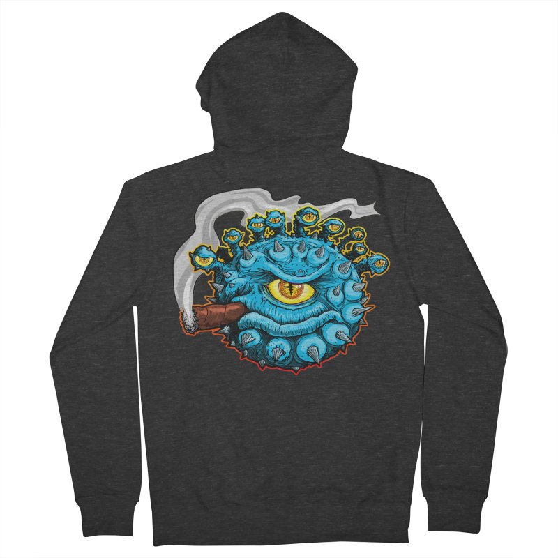 Chomp! Men's French Terry Zip-Up Hoody by Joe Abboreno's Artist Shop