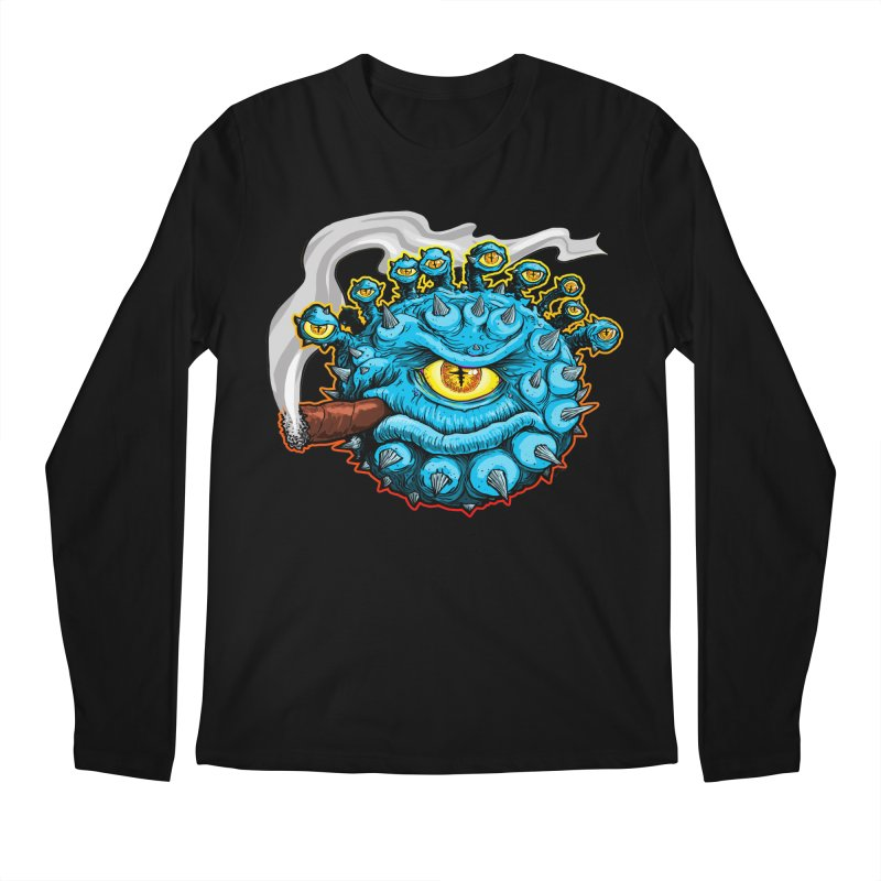 Chomp! Men's Regular Longsleeve T-Shirt by Joe Abboreno's Artist Shop