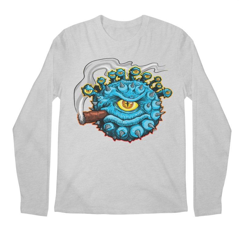 Chomp! Men's Regular Longsleeve T-Shirt by Joe Abboreno's Artist Shop