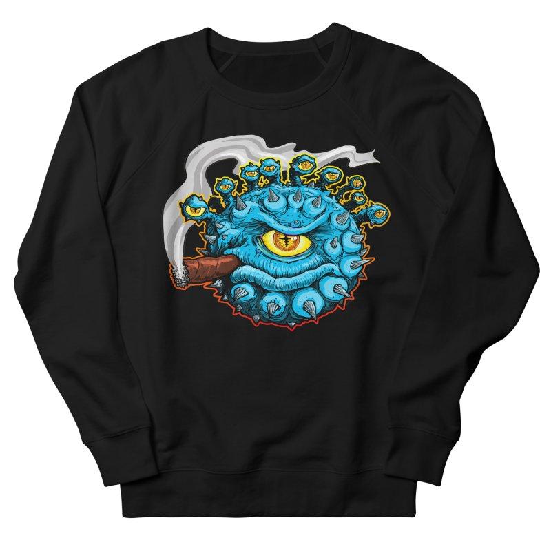 Chomp! Women's French Terry Sweatshirt by Joe Abboreno's Artist Shop
