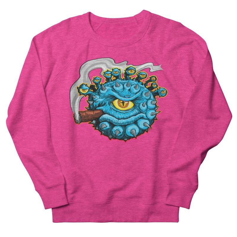 Chomp! Men's French Terry Sweatshirt by Joe Abboreno's Artist Shop