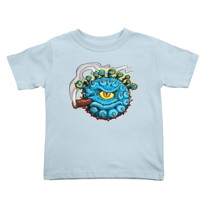 Chomp! Kids Toddler T-Shirt by Joe Abboreno's Artist Shop
