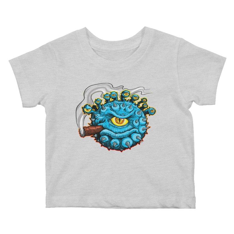 Chomp! Kids Baby T-Shirt by Joe Abboreno's Artist Shop