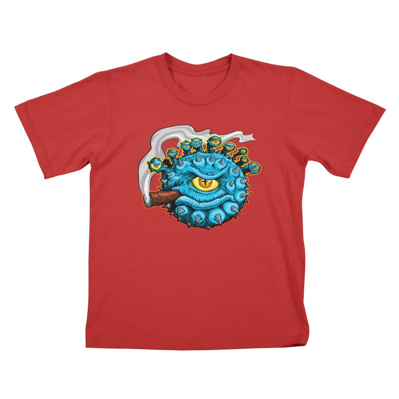 Chomp! Kids T-Shirt by Joe Abboreno's Artist Shop
