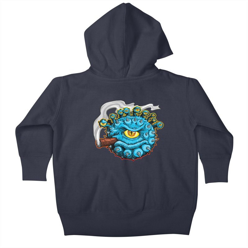 Chomp! Kids Baby Zip-Up Hoody by Joe Abboreno's Artist Shop