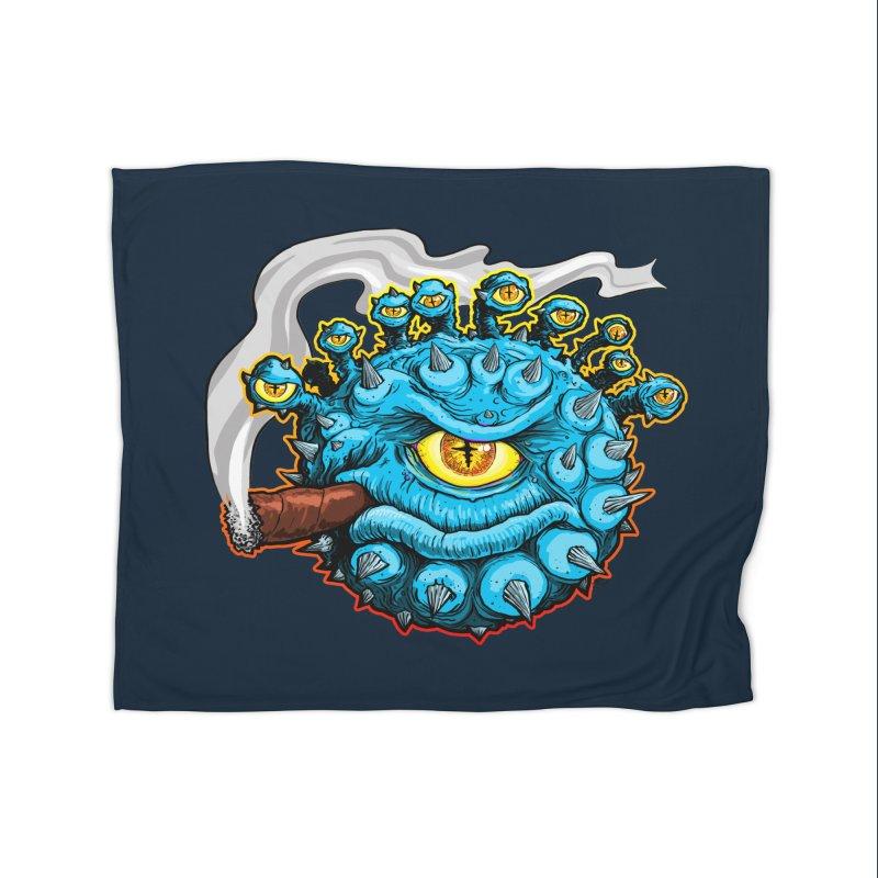 Chomp! Home Fleece Blanket Blanket by Joe Abboreno's Artist Shop