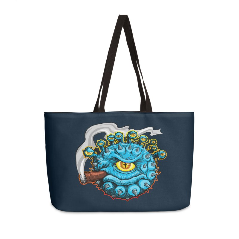 Chomp! Accessories Weekender Bag Bag by Joe Abboreno's Artist Shop