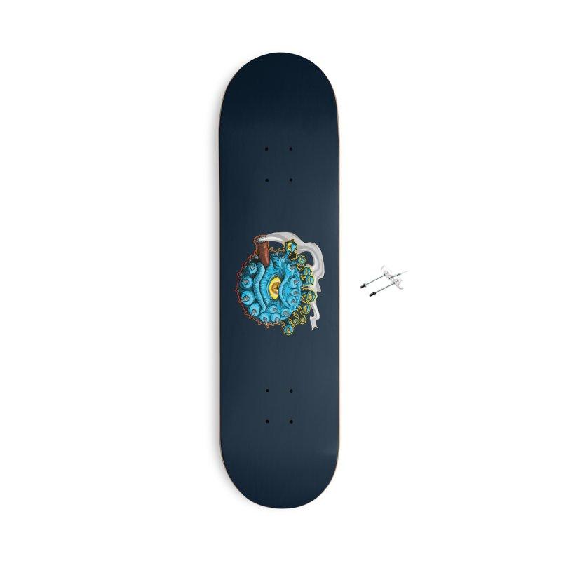 Chomp! Accessories With Hanging Hardware Skateboard by Joe Abboreno's Artist Shop