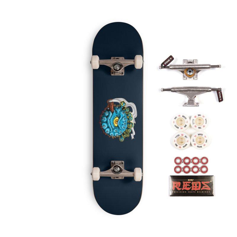 Chomp! Accessories Complete - Pro Skateboard by Joe Abboreno's Artist Shop