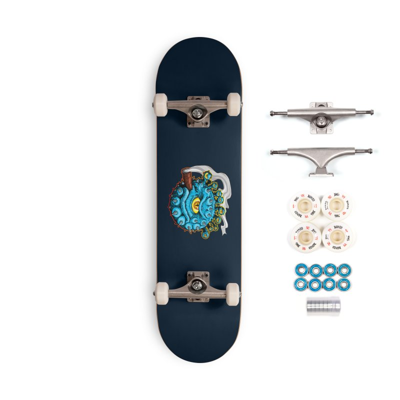 Chomp! Accessories Complete - Premium Skateboard by Joe Abboreno's Artist Shop