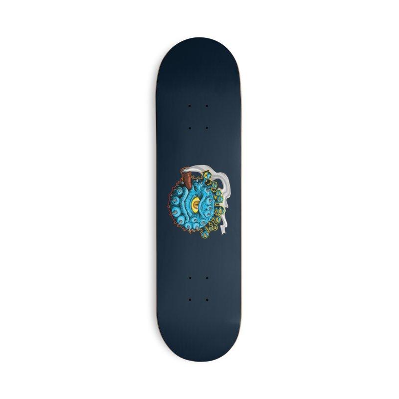 Chomp! Accessories Deck Only Skateboard by Joe Abboreno's Artist Shop