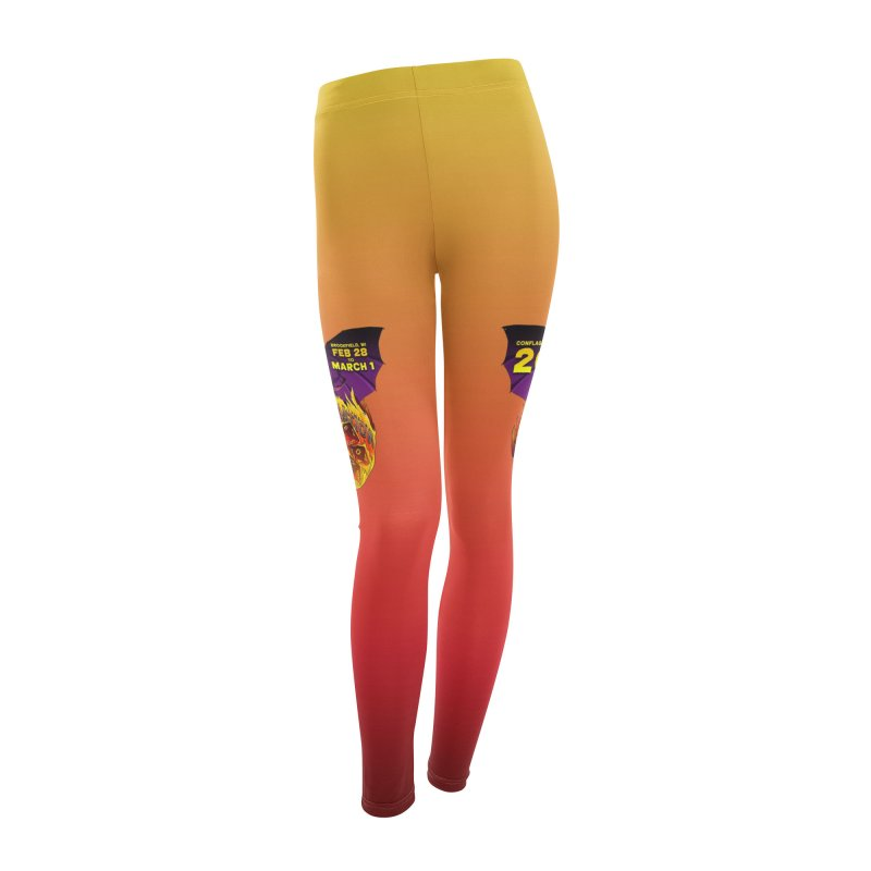Conflagration 20 Official Design Women's Leggings Bottoms by Joe Abboreno's Artist Shop