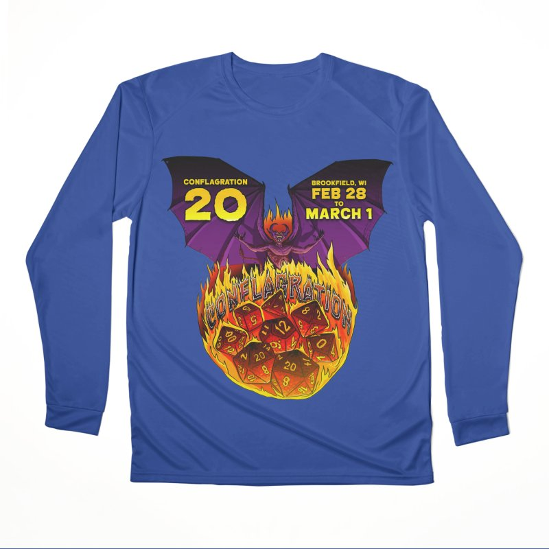 Conflagration 20 Official Design Men's Performance Longsleeve T-Shirt by Joe Abboreno's Artist Shop