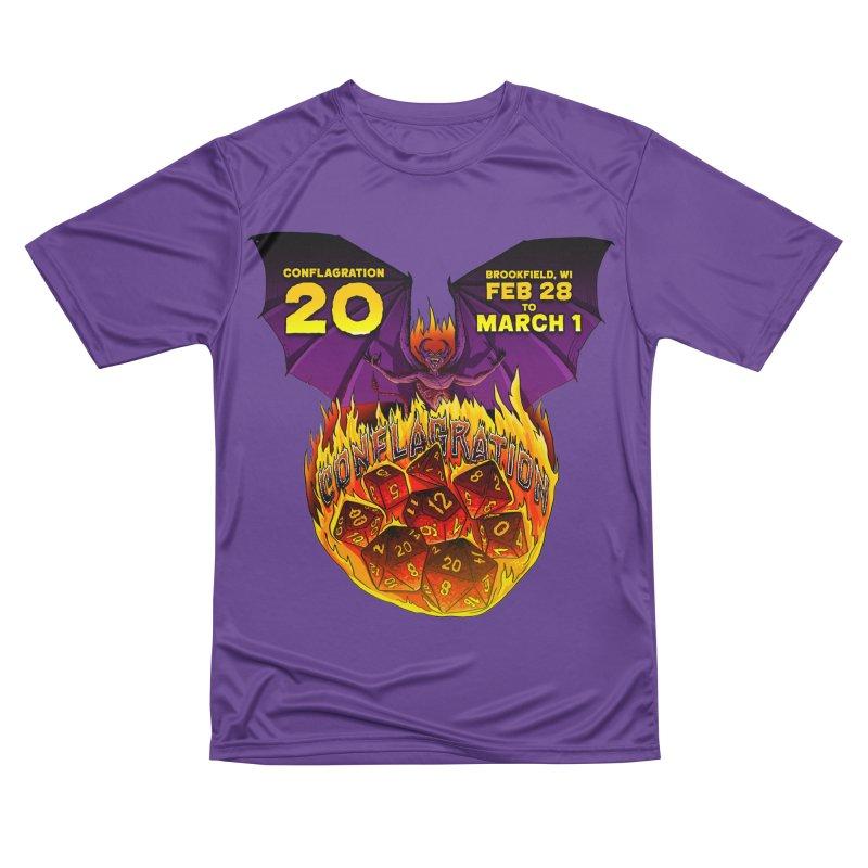 Conflagration 20 Official Design Women's Performance Unisex T-Shirt by Joe Abboreno's Artist Shop