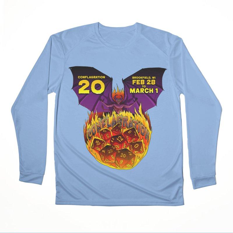 Conflagration 20 Official Design Women's Performance Unisex Longsleeve T-Shirt by Joe Abboreno's Artist Shop