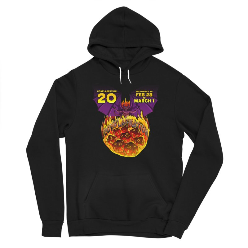 Conflagration 20 Official Design Women's Sponge Fleece Pullover Hoody by Joe Abboreno's Artist Shop