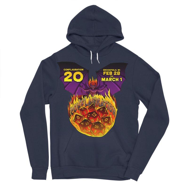 Conflagration 20 Official Design Women's Sponge Fleece Pullover Hoody by Joe Abboreno's Artist Shop