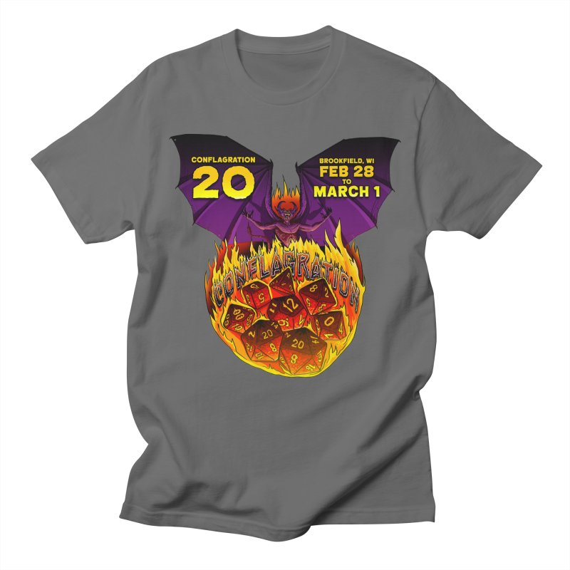 Conflagration 20 Official Design Men's T-Shirt by Joe Abboreno's Artist Shop