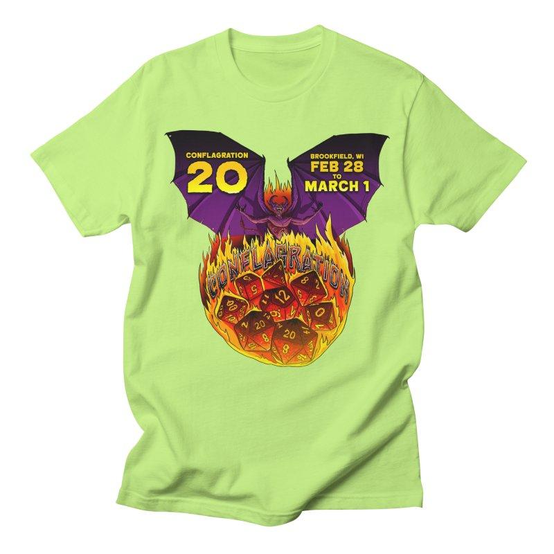 Conflagration 20 Official Design Women's Regular Unisex T-Shirt by Joe Abboreno's Artist Shop
