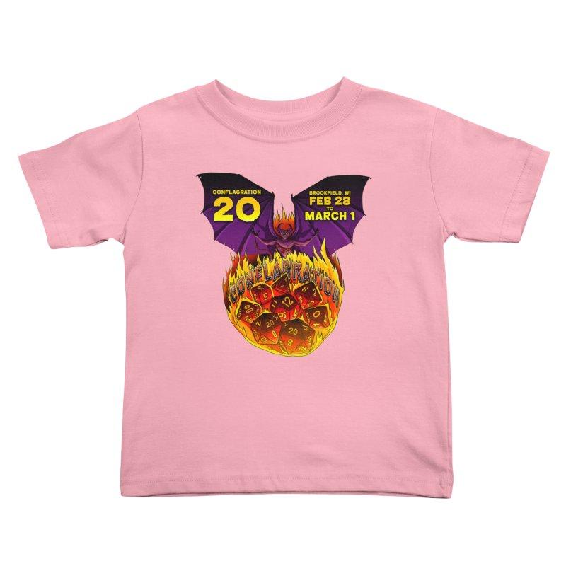 Conflagration 20 Official Design Kids Toddler T-Shirt by Joe Abboreno's Artist Shop
